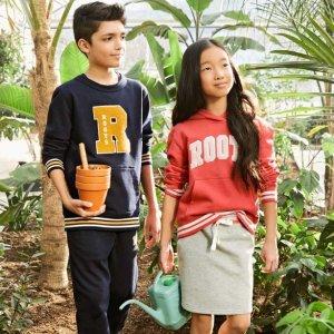7折入封面海报款上新:Roots 春季新品, 大童时尚 必败吸睛单品
