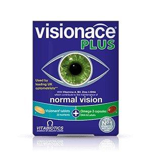 Vitabiotics买三免一Visionace Plus 护眼胶囊