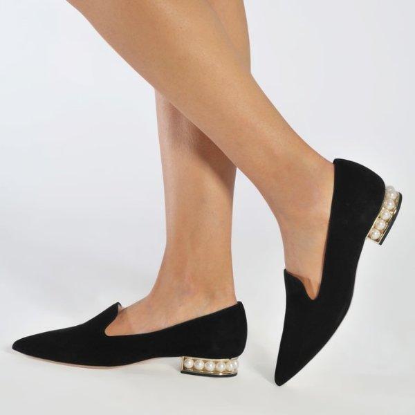 18Mm Casati Pearl 珍珠乐福鞋