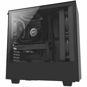 NZXT H500 Matte Black Mid Tower Tempered Glass Case
