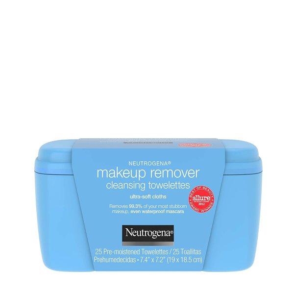Neutrogena 卸妆巾热卖 超值size 去除妆容无残留