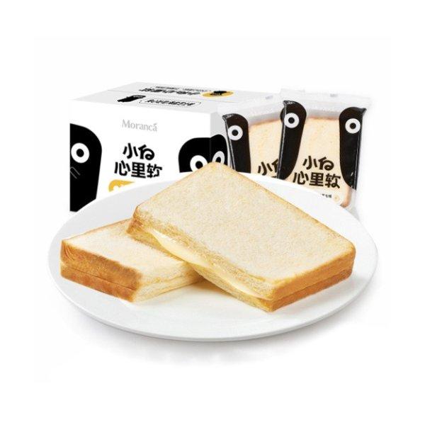 小白心里软 海盐芝士吐司夹心面包 网红营养早餐 43g