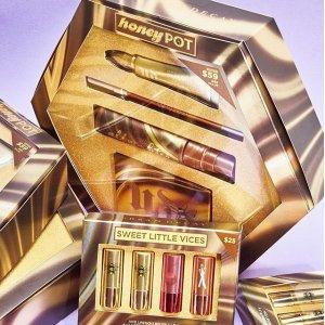 低至6折 $17收迷你眼影盘Urban Decay 折扣区大促 收Honey系列套装、保湿定妆喷雾