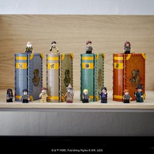 售价€24.99/本 哈迷必收!Lego 乐高 哈利波特魔法书 全套4本 小书本包含大世界