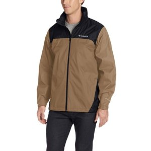 $29.99Columbia Men's Glennaker Lake Front-Zip Rain Jacket with Hideaway Hood