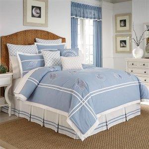 低至1.2折 窗帘一对装$20Croscill 家居床品及软装饰清仓 $5.99起