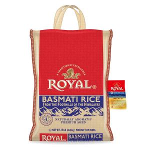 $13.89Authentic Royal Royal Basmati Rice, 15-Pound Bag