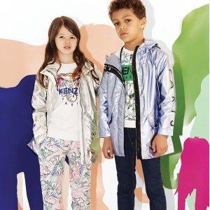 7.5折 $62收KenzoT恤独家:Kenzo、Moschino 春季新款潮牌时装童鞋 平价收大牌