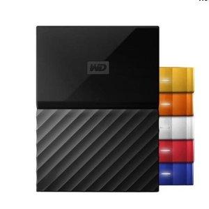 $99.99(原价$131.99)WD 西数USB3.0 3TB移动硬盘 素材的休息站