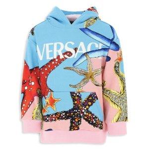 低至4折 超多 Versace 单品范思哲、马丁靴、Bonpoint 等设计师大牌、潮牌儿童服饰优惠