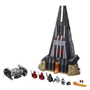 $77.99(原价$129.99)  刷新史低价史低价:LEGO Star Wars 系列 达斯维达的城堡 75251