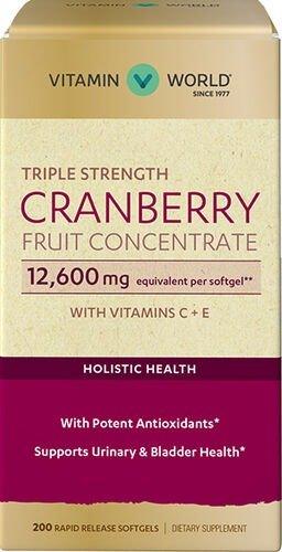 三倍强效蔓越莓精华 12600mg