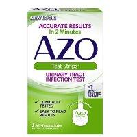 AZO 尿路感染测试纸3套