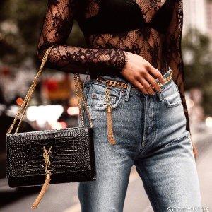 低至5折 卡包$192Saint Laurent 精选美包美鞋热卖 Kate链条包$1200+