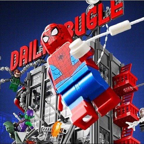 LEGO 蜘蛛侠 号角日报大楼 76178 6月1日上市LEGO 蜘蛛侠 号角日报大楼 76178 6月1日上市