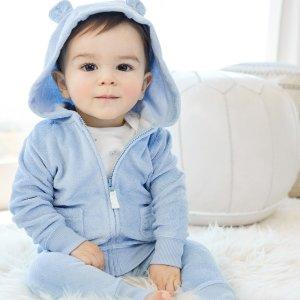 连体衣$3.6 两件套睡衣$4.5限今天:Carter's 官网2.25折儿童服饰闪购