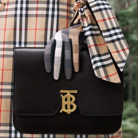 低至6.8折Burberry 黑五大促 收经典格纹围巾、logo卫衣