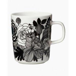 马克杯 g 2,5 dl - white, black, turquoise - All home items - Home - Marimekko.com