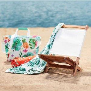 低至5折 $17.5起Indigo 沙滩巾 野餐垫等度假装备特卖 西瓜沙滩巾$19.5