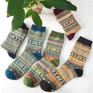Loritta 女士保暖袜子 5双装