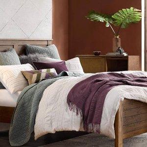 额外7折独家:Designer Living 床品折上折特价 美式田园风