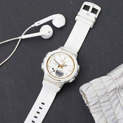 低至5折 白色粉色超好看Casio 卡西欧Baby-G女士手表热卖 少女运动风秒上身