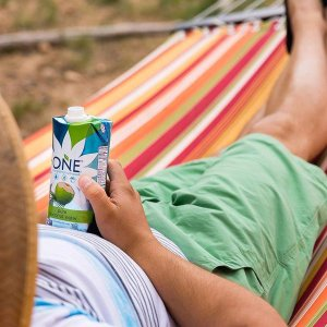 25% Off $9.09O.N.E. Pure Coconut Water, 11.2 Ounce (Pack of 12)