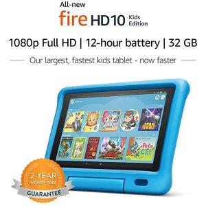 AmazonFire HD 10 32GB 儿童版平板电脑