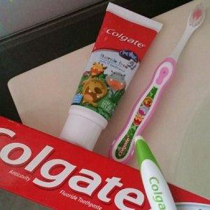 $2.63 (原价$4.29)Colgate高露洁儿童无氟牙膏