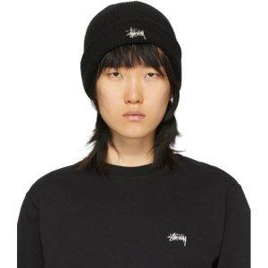Stussylogo毛线帽