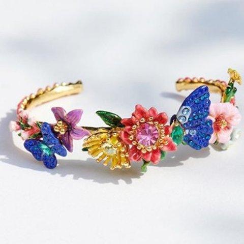 3.5折起! £25就收花朵戒指LES NÉRÉIDES 法国精致少女首饰品牌罕见超值折扣!