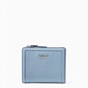 Kate Spade蓝色小钱包