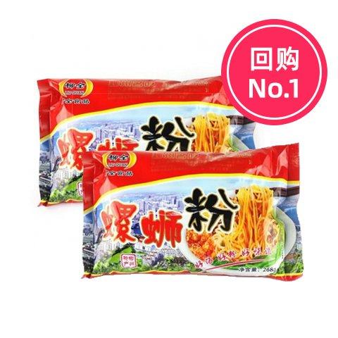 【2袋】柳全 正宗柳州螺蛳粉268g*2