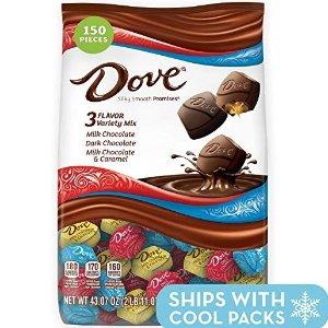 现价$16.99 一颗只需$0.11DOVE PROMISES 巧克力 43.07oz混合装 150颗