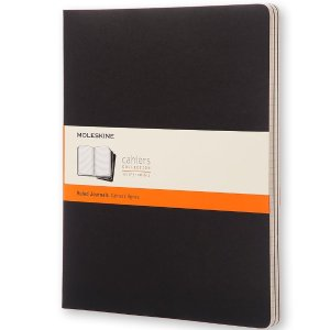 $5.13Moleskine Cahier Journal Extra Extra Large Ruled Black (Set of 3)
