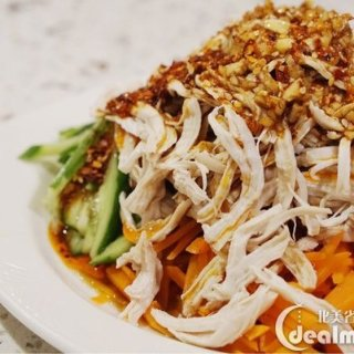 工作日快手菜减脂又美味的凉拌鸡丝 再配碗糙米 营养健康