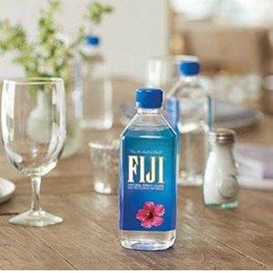$6.44每瓶$1.07FIJI 斐济天然矿泉水500ml×6瓶 网红矿泉水