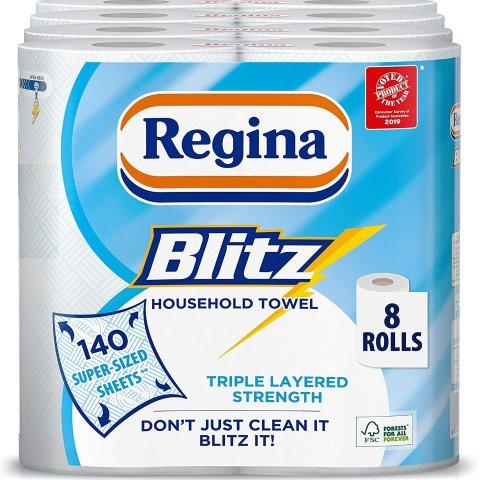 低至6.6折起 厨房纸£1/卷Regina 纸类用品好价热卖 收厨房用纸、卫生纸好时机
