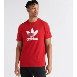 adidas Trefoil Short Sleeve Tee (Red) - DX3609-600 | Jimmy Jazz