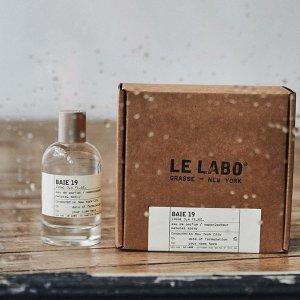 全场9折+限时免邮!Le labo 芳香实验室 会员闪购 小众不撞香 整条街最好闻的仔