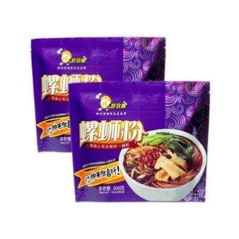 【2袋】好欢螺 紫色螺蛳粉300g*2