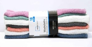 $3.97Mainstays 18pk Wash Cloth @ Walmart