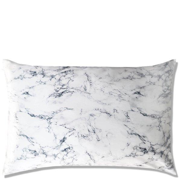 大理石纹真丝枕头