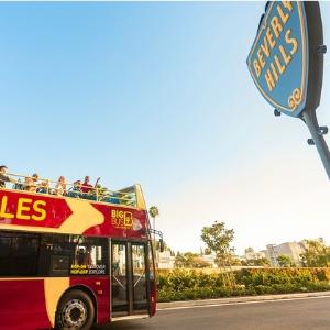 $22.75起 额外6.5折洛杉矶随上随下观光车Big Bus限时特卖