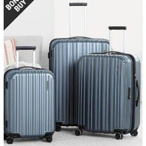 低至3折+额外8.5折Samsonite、London Fog等行李箱清仓促销