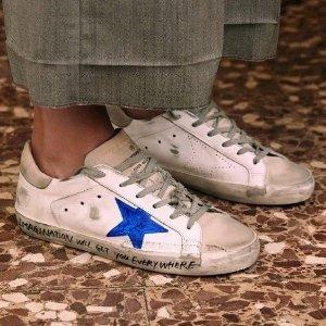 独家8折 £232起明星同款轻松Get最后一天:Golden Goose 超全款式全场小脏鞋折扣热卖