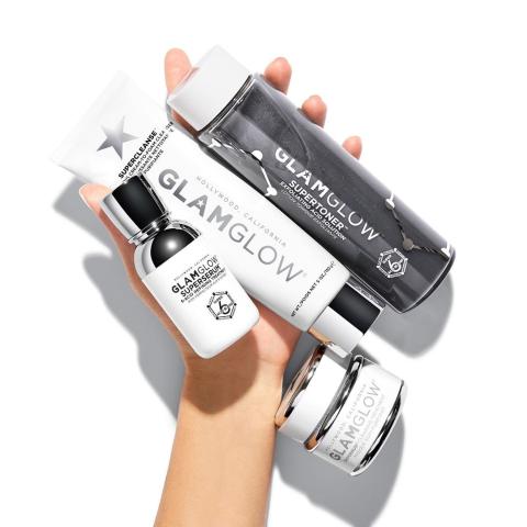 低至6.2折+送黑管清洁面膜Glamglow 好莱坞明星挚爱面膜热卖 £27收3管发光面膜