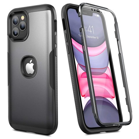 $2.80YOUMAKER Metallic Designed for iPhone 12 Case & iPhone 12 Pro Case