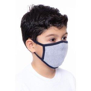 Kids Grey+Black Mask