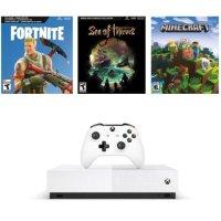 Xbox One S 1TB 数字版 + 3款游戏